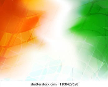 India Independence Day Abstract Creative Background.