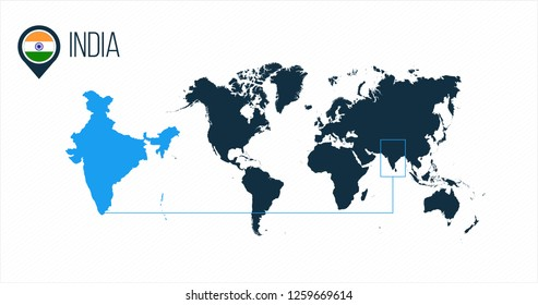 World Map India Images, Stock Photos & Vectors | Shutterstock on national anthem of india, people of india, economy of india, road maps of india, atlas of india, shapes of india, princess of india, current president of india, continents of india, geographical features of india, elephants of india, water of india, blue of india, emblem of india, currency of india, bangladesh of india,