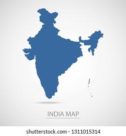 India Map Vector Images, Stock Photos & Vectors   Shutterstock