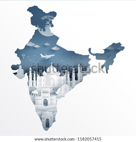 India map concept with