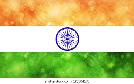 India national flag country