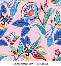 Jacobean Pattern Images, Stock Photos & Vectors | Shutterstock