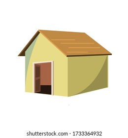 Indian 2d illustration Home Small House
