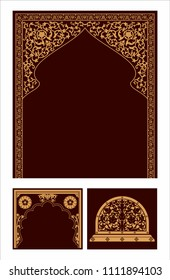 Indian arch, Indian architectural, Indian design pattern
