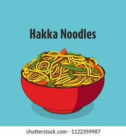 indian chinese food hakka noodles