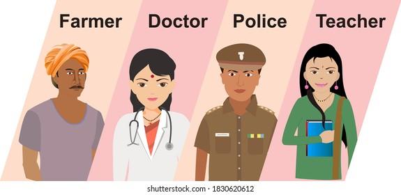 Indian Female Cartoon Character Images Stock Photos Vectors Shutterstock