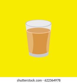 """Indian famous tea """"Chai Masala"""" vector illustration"""