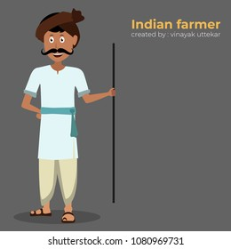 indian farmer man
