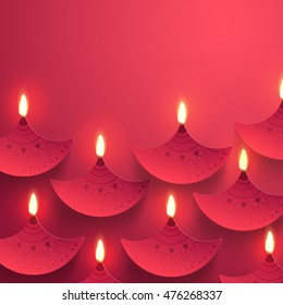 Diwali greetings images stock photos vectors shutterstock indian festival background with creative illuminated paper oil lamps diya decoration elegant greeting m4hsunfo