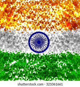 Indian Flag background Abstract for India Independence Day, 2nd October,republic day.