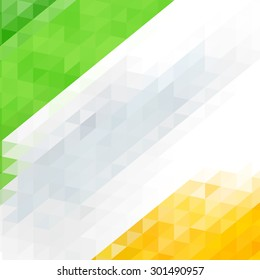 Indian Flag for Indian Independence Day/vector