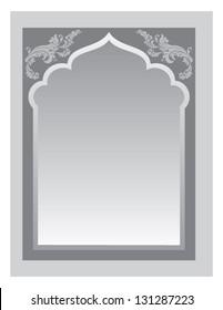 Indian Frame Vector 1