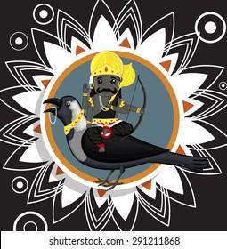 Indian God of Death - Shani Dev