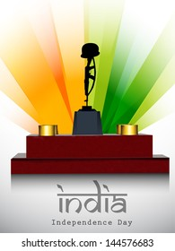 Amar jawan jyoti images stock photos vectors shutterstock indian independence day background with amar jawan jyoti on national flag rays background altavistaventures Choice Image
