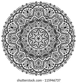 Indian Lace ornament