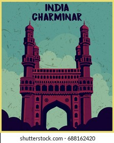 Indian monument Charminar