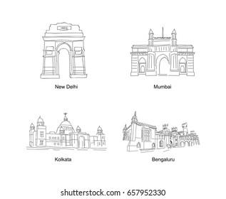Indian Monument doodle