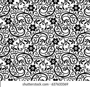 Indian Motif Pattern Vector
