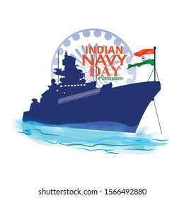 Indian Navy Day in India is celebrated on 4 December