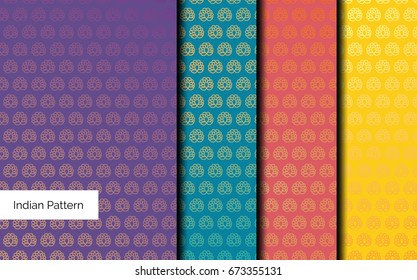 Indian Pattern detailed and easily editable