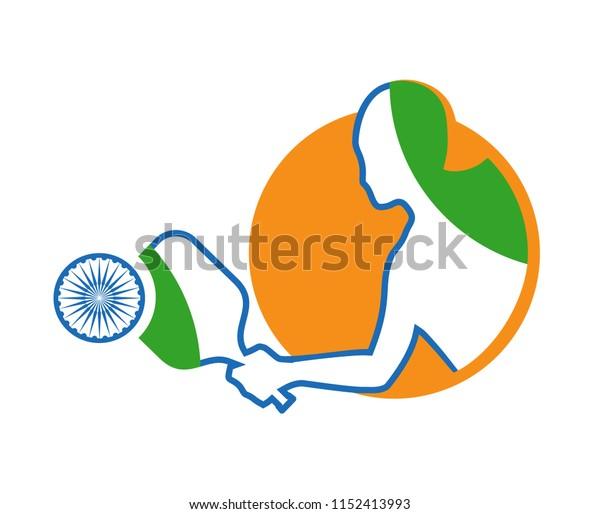 Indian pickleball symbol