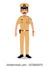 indian Police officer Young