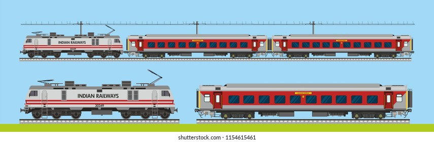 Indian Railway rajdhani express