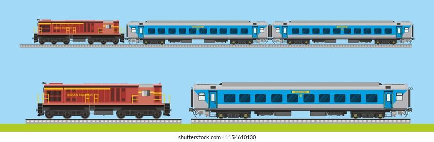 Indian Railway Shatabdi Express
