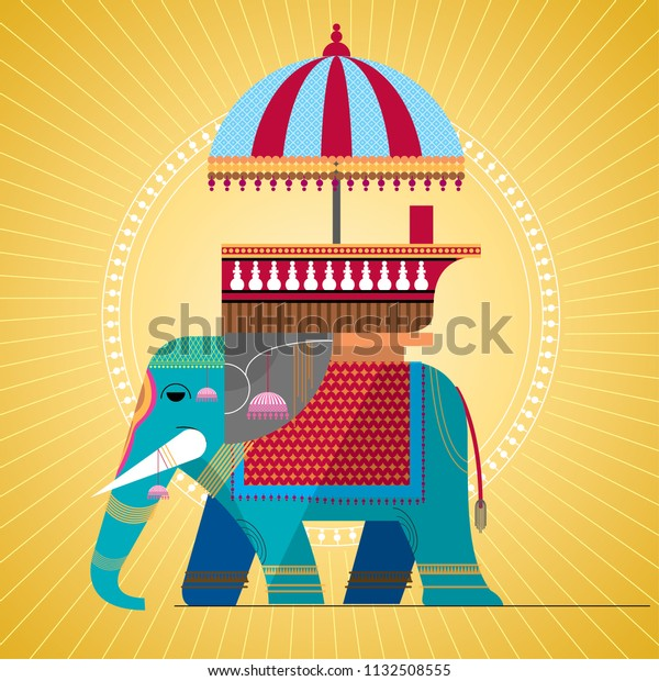 Indian Royal Elephant Stock Vector Royalty Free 1132508555 This png image was uploaded on. https www shutterstock com image vector indian royal elephant 1132508555