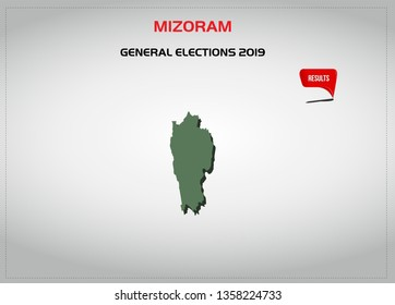INDIAN STATE MIZORAM ELECTION RESULTS