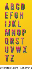 Indian Style Quirky Font