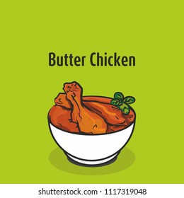 indian traditional cuisine Butter chicken