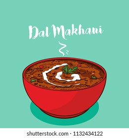 indian traditional cuisine dal makhani