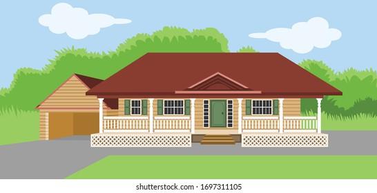 Indian village cottage structure building