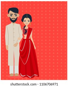 Indian Wedding Couple Images, Stock Photos & Vectors | Shutterstock