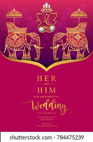 Indian Wedding Card Images, Stock Photos & Vectors | Shutterstock
