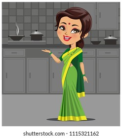 Asia Mom And Girl Cooking Stock Vectors Images Vector Art Shutterstock