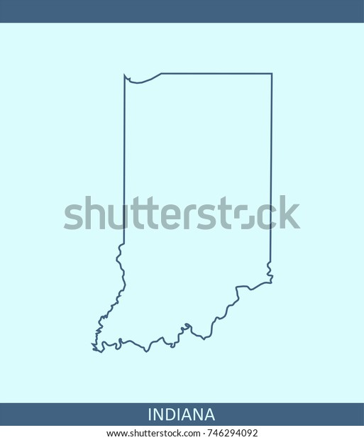 Indiana State Usa Map Vector Outline Stock Vector (Royalty ... on mississippi map usa, oregon map usa, yale map usa, united states political map usa, montana map usa, show map of indiana usa, evansville map usa, indiana city usa, minnesota map usa, new mexico map usa, kentucky map usa, indiana on map, tulsa map usa, akron map usa, virginia map usa, oklahoma map usa, iowa map usa, columbia map usa, indiana road map of usa, michigan map usa,