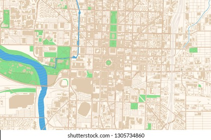 Indianapolis Map Images, Stock Photos & Vectors | Shutterstock on