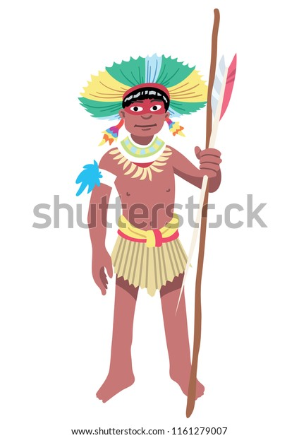 Indigenous Amazonian Hunter