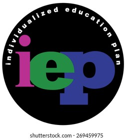 Individualized Education Plan (I.E.P.) vector