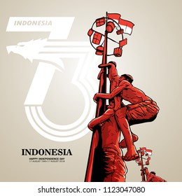 Indonesia independence day background
