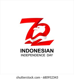 Indonesia Independence Day Design, National Day Of Indonesia logo