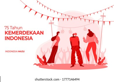indonesia independence day greeting card 260nw 1777146494