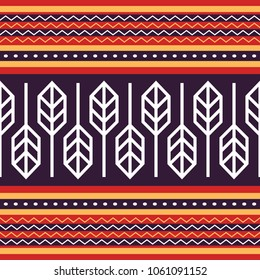 Indonesia Traditional Fabric Pattern, Tenun Sumba Vector Design Etnic