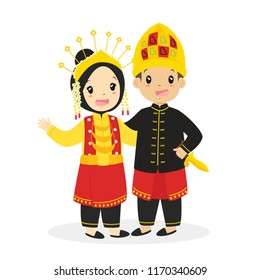 Indonesian Culture Cartoon Stock Illustrations Images Vectors