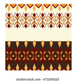 Indonesian Dayak Pattern