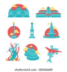 Indonesian Famous Landmarks
