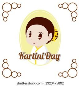 Indonesian Kartini Day Illustration