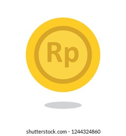 Indonesian Rupiah Coin Icon